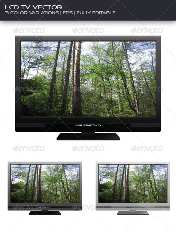 LCD TV 3-pack