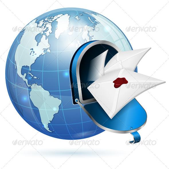 GraphicRiver E-Mail Concept 4263686