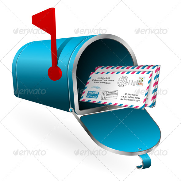 GraphicRiver Mail and E-Mail Concept 4263687