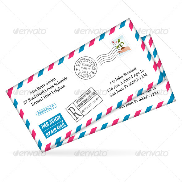 GraphicRiver Envelope 4263689