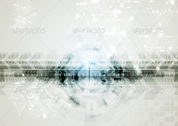 Abstract Vector Hi-Tech Background