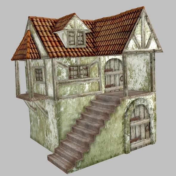 3DOcean Medieval House 4263850