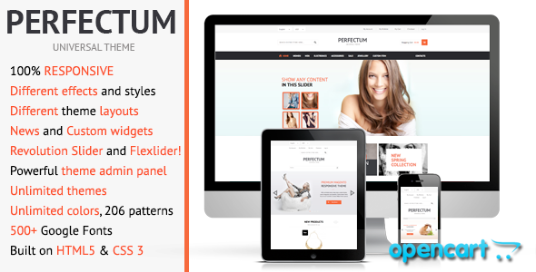ThemeForest Perfectum Premium Responsive OpenCart theme 4264779