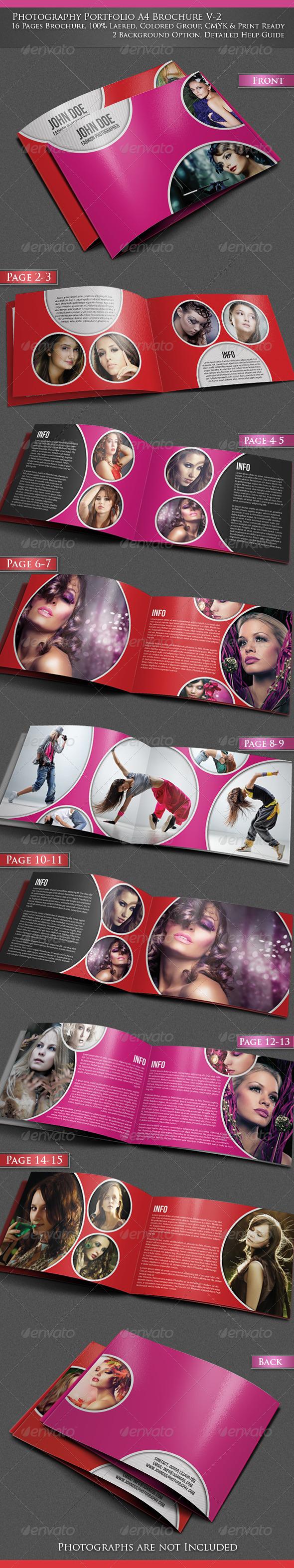 Photography Portfolio A4 Brochure -V2 - Portfolio Brochures