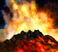 Volcanic eruption - PhotoDune Item for Sale