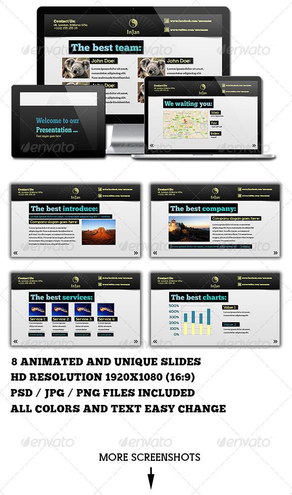 GraphicRiver In Jan Powerpoint Presentation 4172161