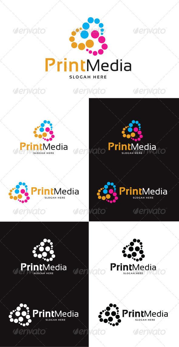 GraphicRiver Print Media Logo Template 4130299