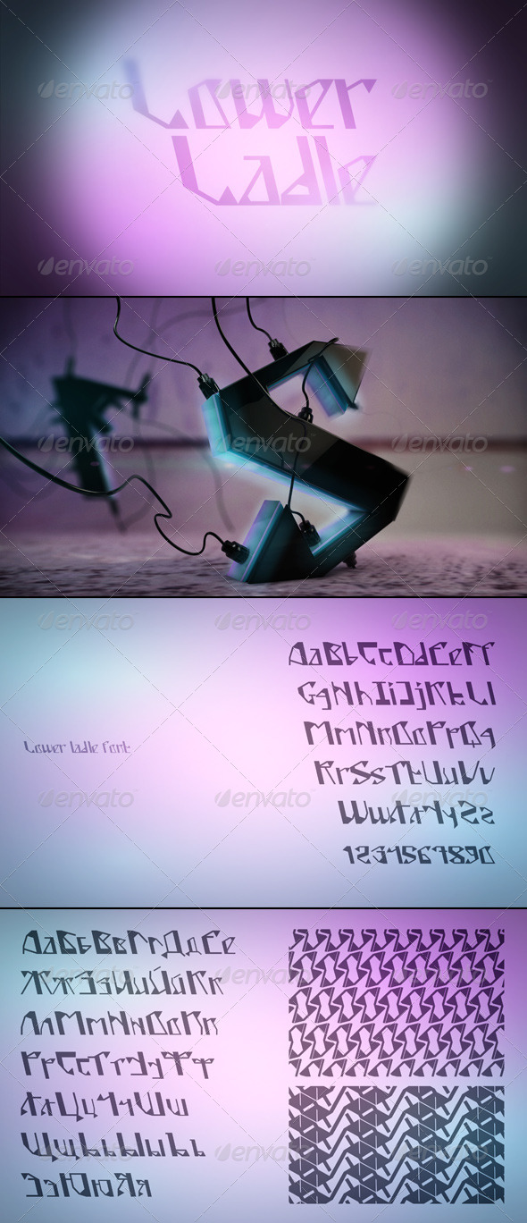 GraphicRiver Lower Ladle Font 4265367