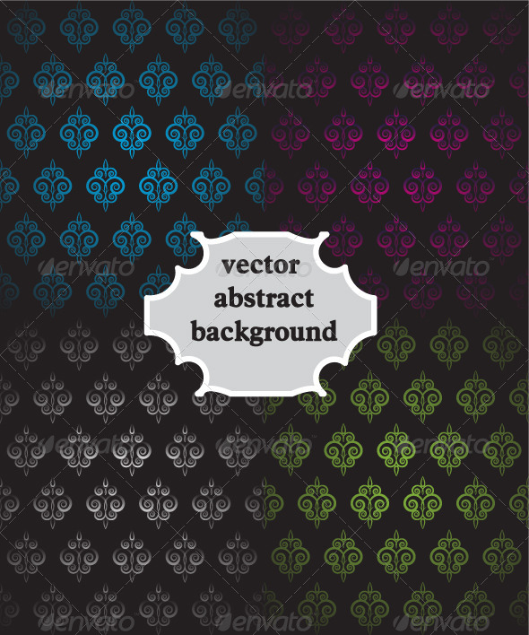 GraphicRiver Vintage Colorful Vector Backgrounds 4265373