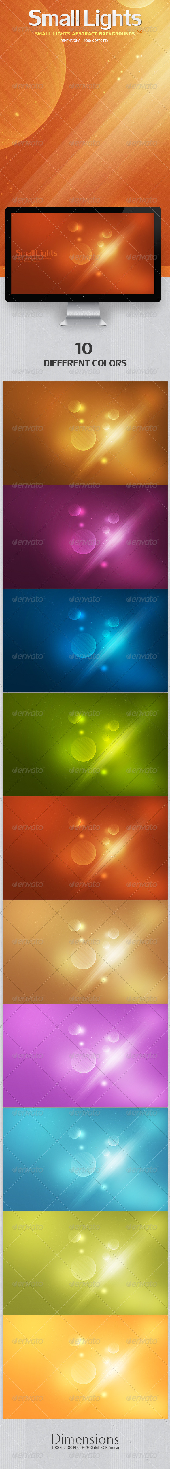 GraphicRiver Small Lights Abstract Backgrounds v2 4266323