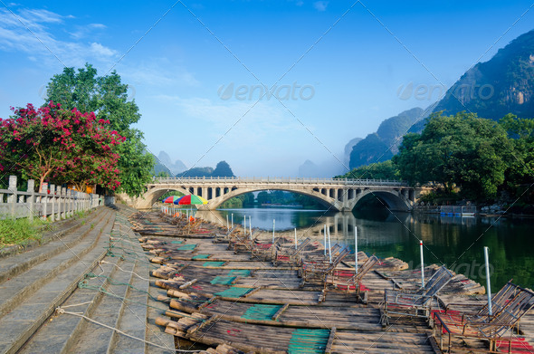 PhotoDune Li river karst mountain landscape 4266585