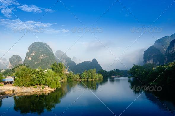 PhotoDune Beautiful Karst mountain landscape 4266587