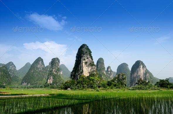 PhotoDune Pastoral scenery in Guilin 4266589