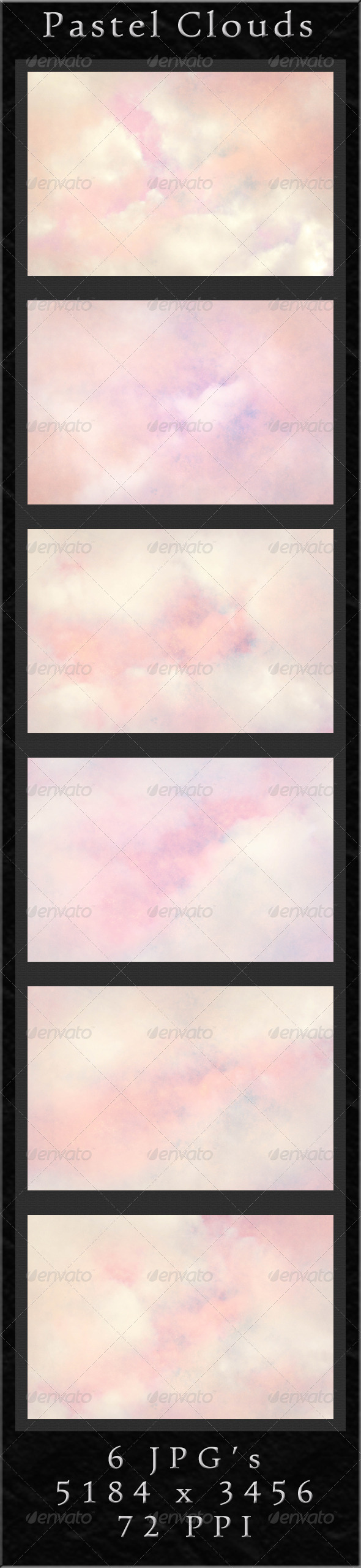 GraphicRiver Pastel Clouds 4266660