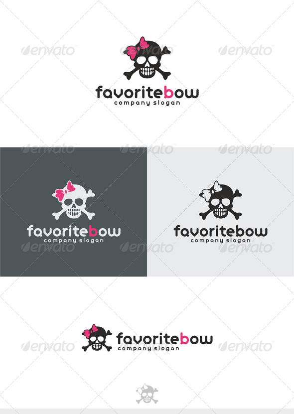 Favorite Bow Logo - Symbols Logo Templates