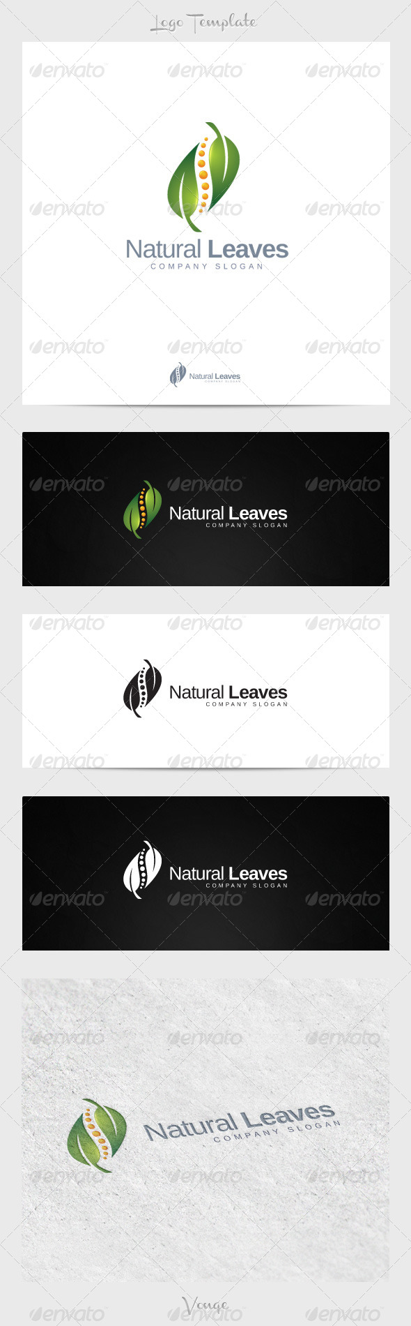 GraphicRiver Natural Leaves 4267108