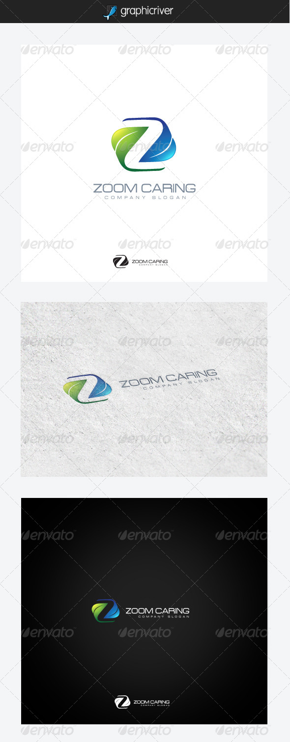 Zoom Caring - Nature Logo Templates