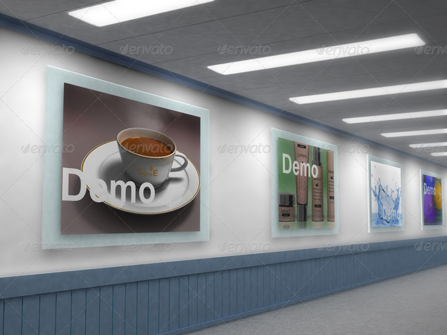 Gallery Wall Mock-up