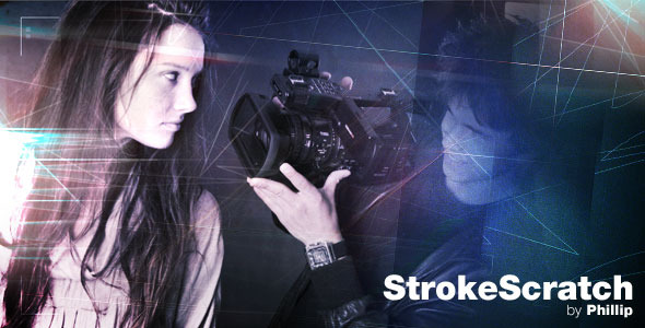 After Effects Project - VideoHive StrokeScratch 443274