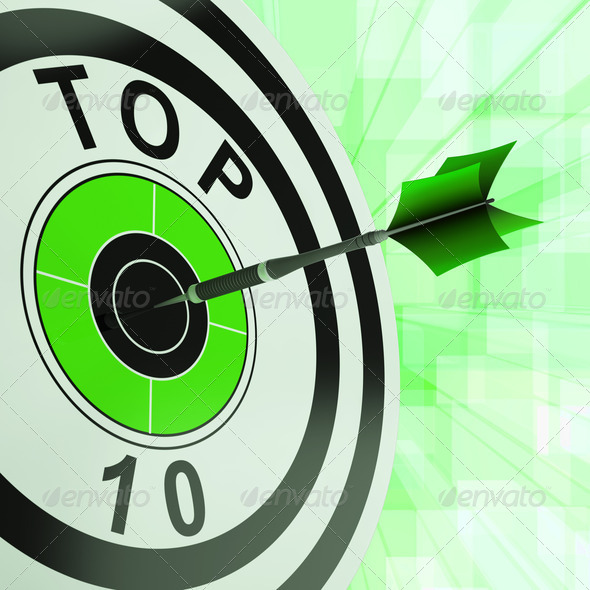 PhotoDune Top Ten Target Shows Successful Ranking Award 4268072