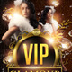 VIP Glamour Flyer Template + Timeline - GraphicRiver Item for Sale