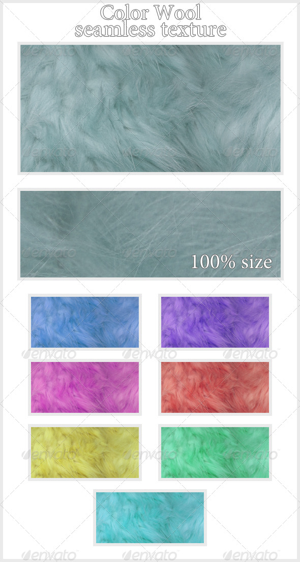 GraphicRiver Color Wool Texture seamless 4269198