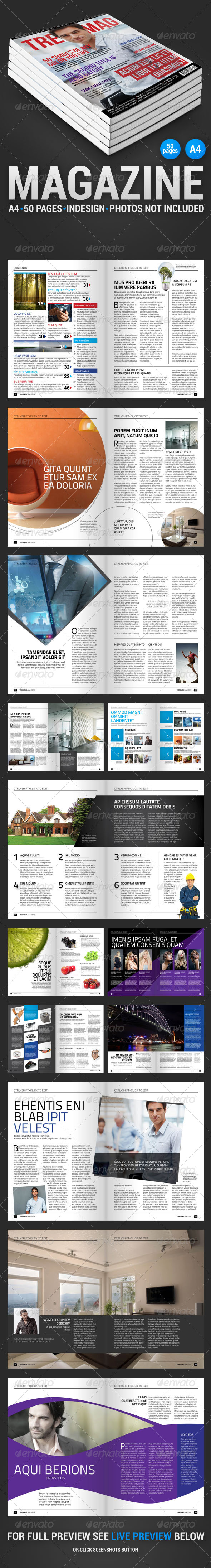 GraphicRiver TrendMag 50 pages magazine 4269864