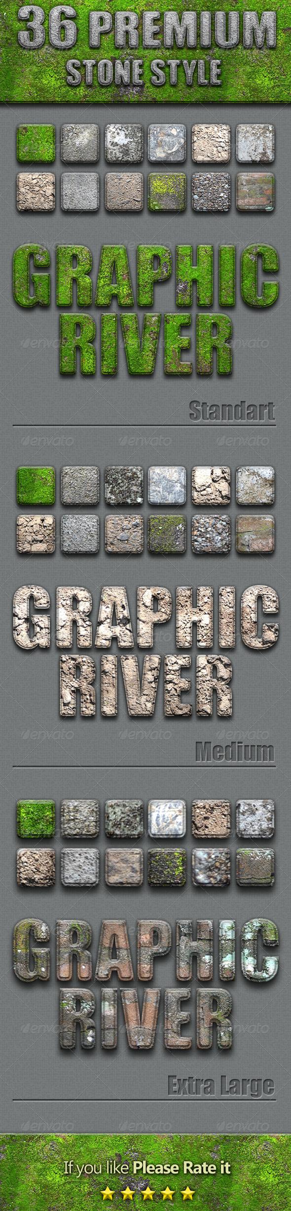 GraphicRiver 36 Premium Stone Style 4270238