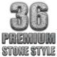 36 Premium Stone Style - GraphicRiver Item for Sale