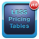 CSS LESS Responsive Pricing Tables Pack.