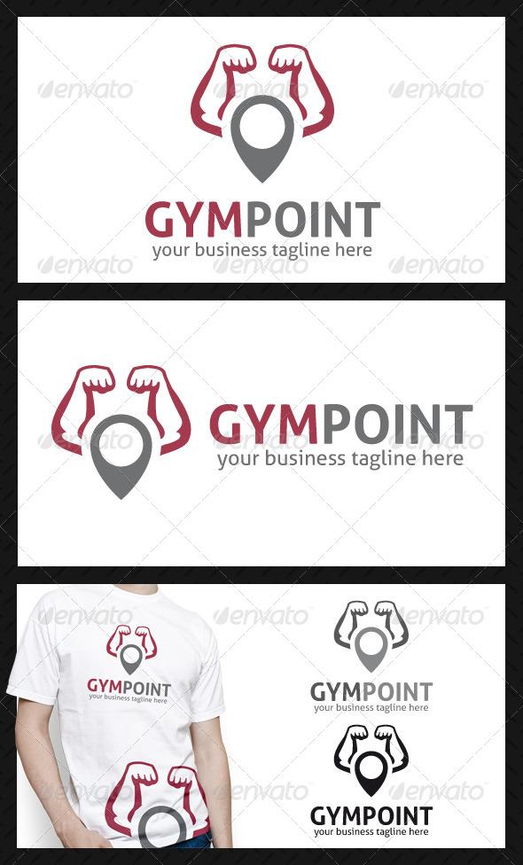 Gym Locator Logo Template