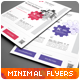 Clean Minimal Multipurpose Flyers vol. 2 - GraphicRiver Item for Sale