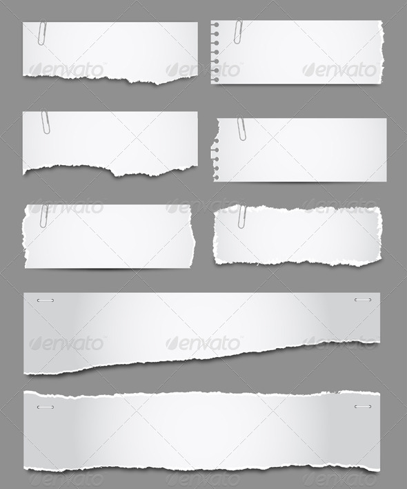 GraphicRiver Torn Paper 4271406
