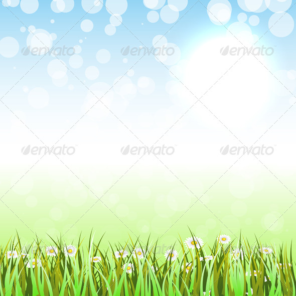 GraphicRiver Spring Background 4271469