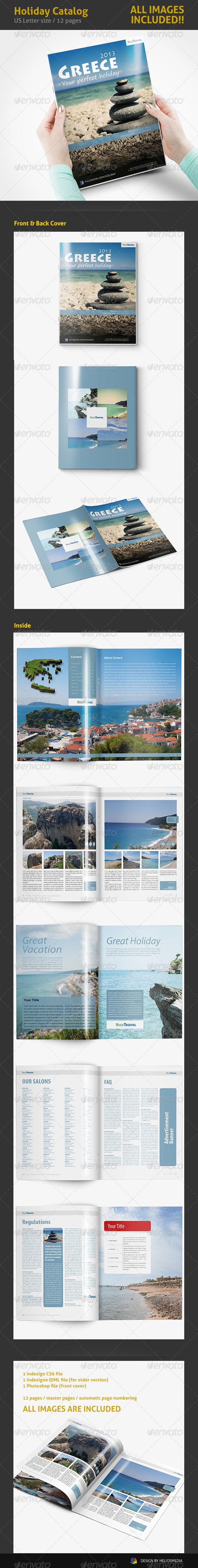 GraphicRiver Travel Holiday Catalog 4271735