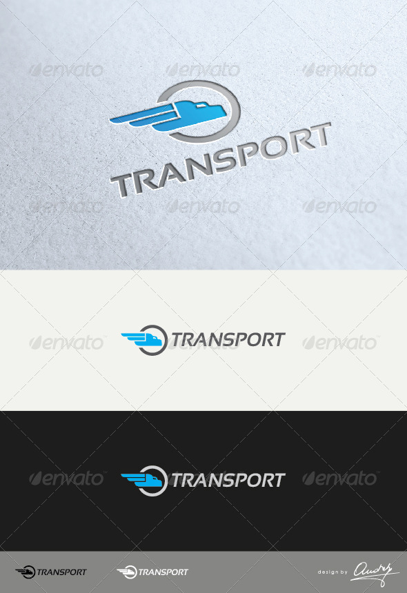 GraphicRiver transport logo 4123586