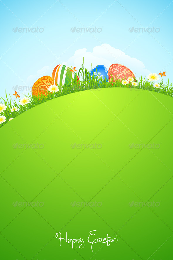 GraphicRiver Easter Holiday Background 4272018
