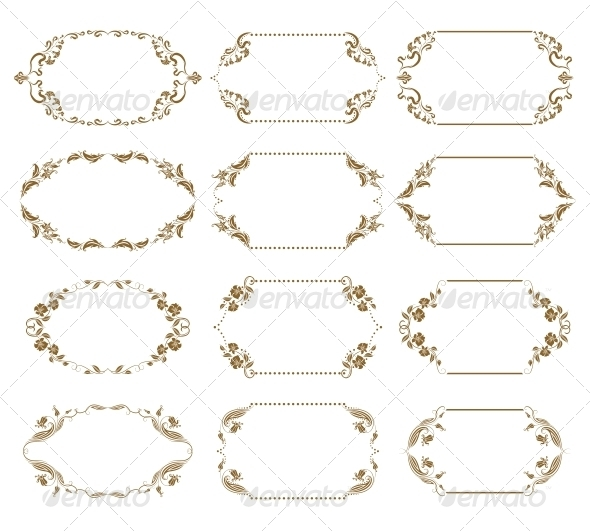 GraphicRiver Decorative Frames 4272121