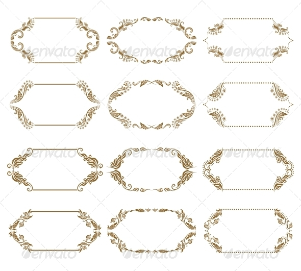 GraphicRiver Decorative Frames 4272128