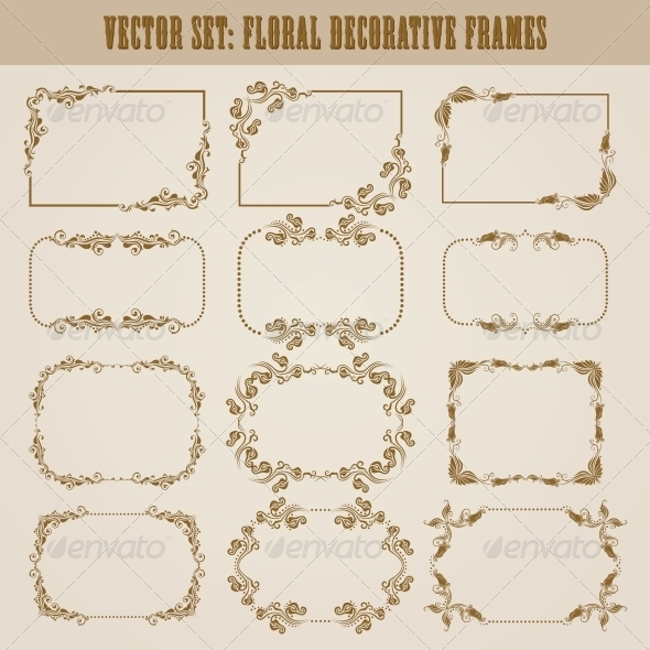 GraphicRiver Decorative Frames 4272139