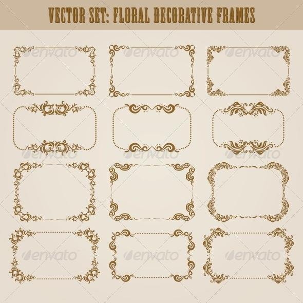GraphicRiver Decorative Frames 4272143