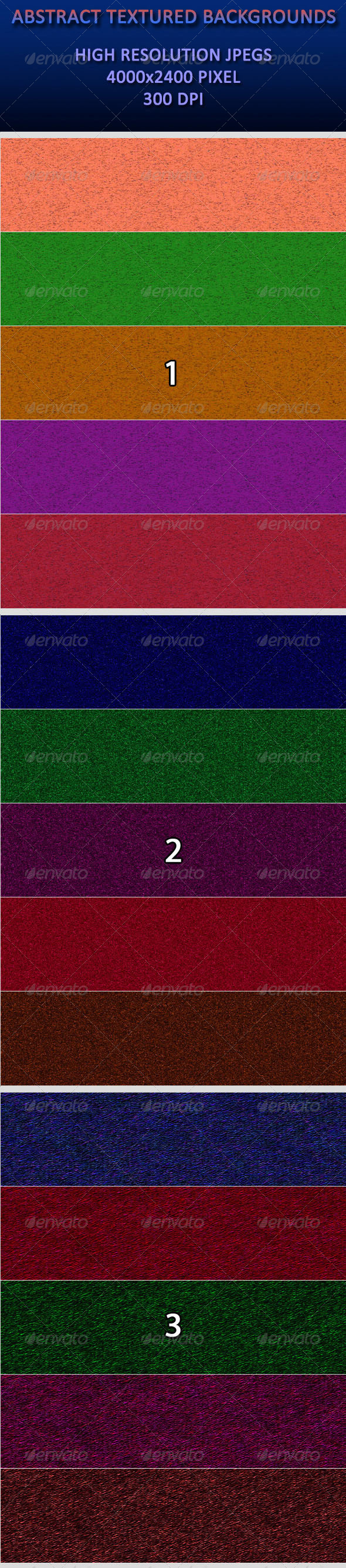 GraphicRiver Abstract Textured Backgrounds 4184419
