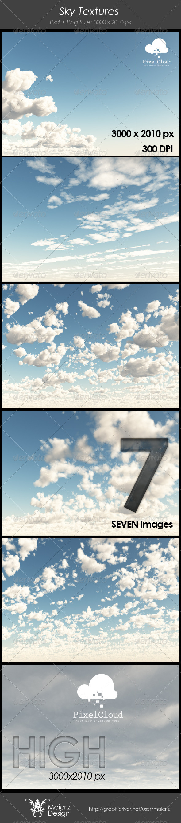 GraphicRiver Sky Reflect Pack 4272283