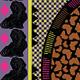 Africa; Modern Funky Frame & Border Set - GraphicRiver Item for Sale