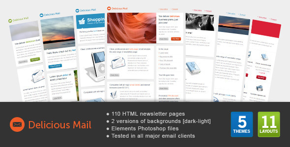 ThemeForest Delicious Mail 397044