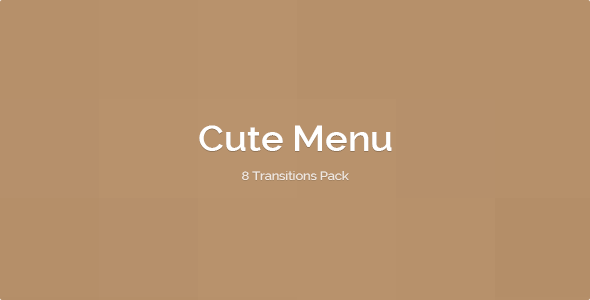 Download Cute Menu - 8 transitions pack nulled download