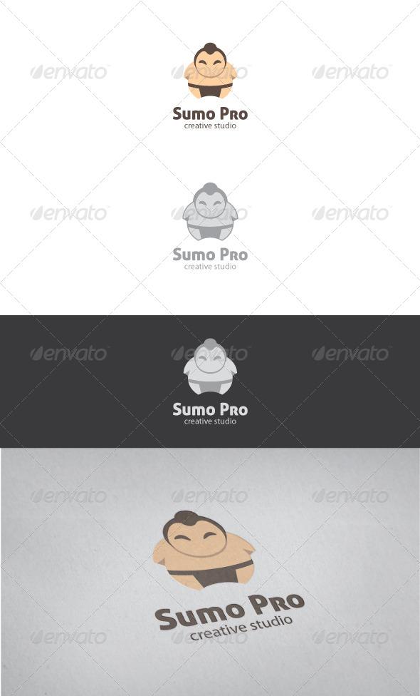 GraphicRiver Sumo Pro Logo Template 4172773