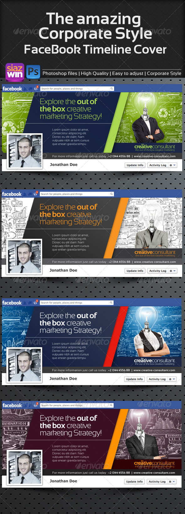 GraphicRiver The Amazing Corporate FB Timeline 01 4237848