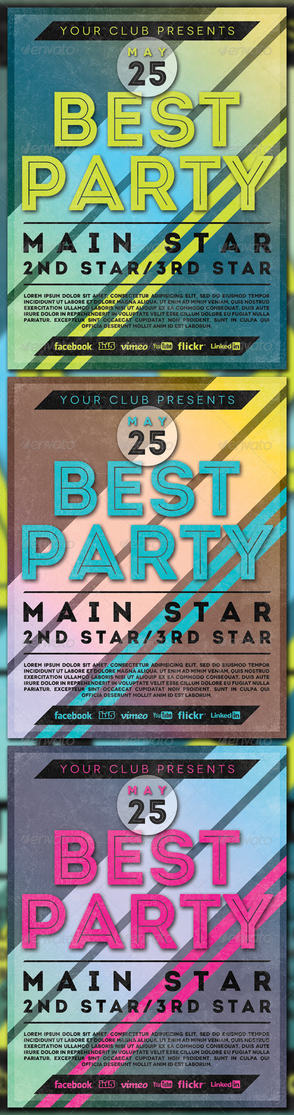 GraphicRiver Best Party 4274377
