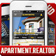 Apartments Real Estate UI Phone 5 Retina 135 PSDs - GraphicRiver Item for Sale